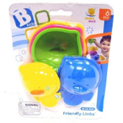 B kids Friendly Links Bathtub Toy