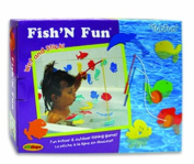 EduShape 915019 Fish N Bath Toy Spell - Box