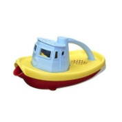 Green Toys Blue Tug Boat : Made in America