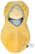 Manhattan Toy Snuggle Pod Lil' Peanut First Baby Doll with Cosy Sleep Sack for Ages 6 Months and Up