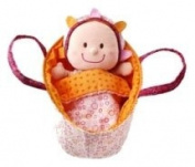 Lilliputiens Baby Eline Soft Doll & Basket