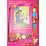 Our Generation Mini Doll with Play Set and Book - Eva/Mystery of Vanishing Coin