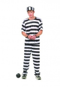 RG Costumes 77008 Convict Top Costume - Size Teen 16-18