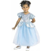 Kids Girls Blue Princess Cinderella Dress Halloween Costume Cute Childrens Fairytale Outfit