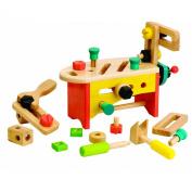 Voila Toys Wooden Tool Box