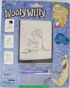 Muddy Mudskipper Woolly Willy Ren & Stimpy Magnetic Drawing Toy
