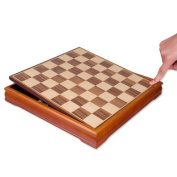 Traditional Birch Wood Chess Set - Large