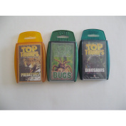 Top Trumps Card Game - Scary Creature 3 pack with Predators, Bugs and Dinosaurs