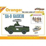 Dragon 1:35 Soviet SA-9 Gaskin SAM Vehicle Model Kit + Motor Rifle Troops
