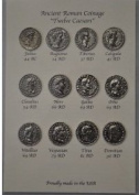 "Replica Ancient Roman Coinage ""Twelve Caesars"" -- Coin Set -"