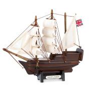 Gifts & Decor Historical Nautical Decor Mini Mayflower Ship Model Collectible