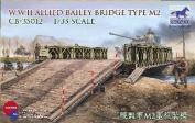 Bailey Bridge Allied Type M2 1-35 Bronco Models