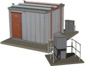 Hornby - Skaledale Railside Collection - Modern Lineside Hut & AWS Box Set