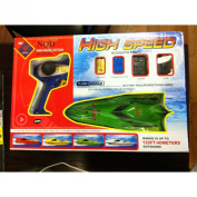 """Team Rc B75 12"""" Mini Remote Control Boat, 1:38 High Speed Radio Control up to 6.5mph, Red"""