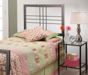 Hillsdale Furniture 1334HTWR Tiburon headboard, Magnesium Pewter