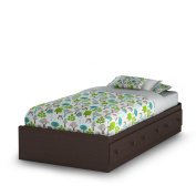 Summer Breeze Twin Mates Bed (100cm ) Chocolate