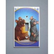 Ratatouille Rat Mouse Remy Single Switch Plate switchplate #2
