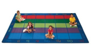 Carpets for Kids Colourful Places Seating Rug (Factory Second) - Rectangle - 8'10cm x 13'10cm