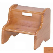 Little Colorado 105WDNA Wooden Step Stool in Natural