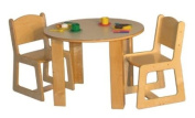 Mainstream PS Round Housekeeping Table Set