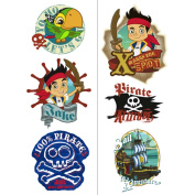 Hallmark Disney Jake and the Never Land Pirates Tattoos Sheets