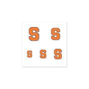 Syracuse Orangemen Official NCAA 2.5cm x 2.5cm Fingernail Tattoo Set by Wincraft