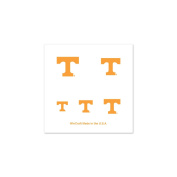 Tennessee Volunteers Official NCAA 2.5cm x 2.5cm Fingernail Tattoo Set by Wincraft