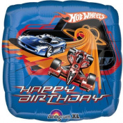 46cm Hot Wheels Racing Happy Birthday .