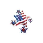 90cm American Spirit Cluster Patriotic