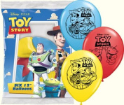 Toy Story Balloons - Toy Story Party Latex Balloons - 6 Count