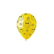 30cm Crystal Yellow Smiley Faces Latex 50's