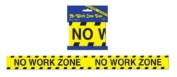 No Work Zone Party Tape Party Accessory (1 count)