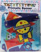 "Amazing Mazel Tov ""BOY"" Prismatic Banner"