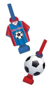 All-Star Soccer Party Blowouts 8ct