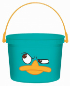 Disney Phineas and Ferb Favour Bucket (Aqua) Party Accessory