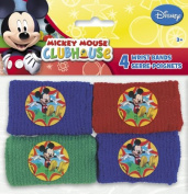 Mickey Mouse Clubhouse Party Favours - 4 Wrist Bands