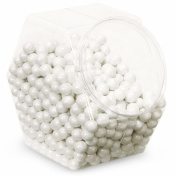 Shimmer White Sixlets Candy (White) Party Accessory