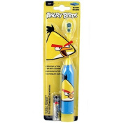 Angry Birds Turbo Power Battery Powered Toothbrush, Soft Bristles, Battery Included