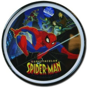 Spectactular Spiderman Plate - Boys Plastic Plate