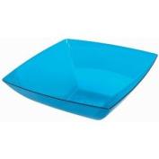 Blue Large Plastic Square Bowl Party Accessory