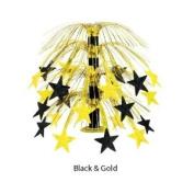 Beistle Company Multi-Color Star Cascade Centerpiece
