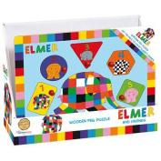 Elmer Wooden Peg Puzzle