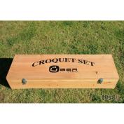 UBER Games Wooden Croquet Storage Box
