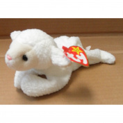TY Beanie Babies Fleece the Lamb Stuffed Animal Plush Toy - 18cm long