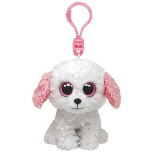 Ty Beanie Boo 7.6cm Key Clip - White Dog Diva by Beanie Boos - Shop ... 5e11cbd7a89