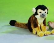22cm Squirrel Monkey Plush Stuffed Animal Toy