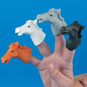 Vinyl Horse Finger Puppets [Toy]