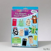 Passover Ten Plagues Hand Puppets Kit-Create a Puppet for Every Plague (Not for Children Under  .