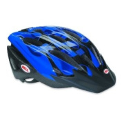 Bell Cognito blue/black flames