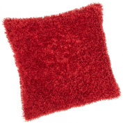Brentwood Fifi Plush Pillow-, Red